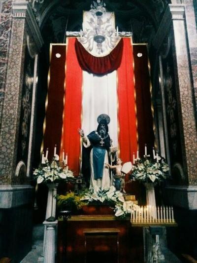 San Barsanofio, Basilica Cattedrale di Oria, febbraio 2016