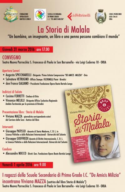 locandina La Storia di Malala