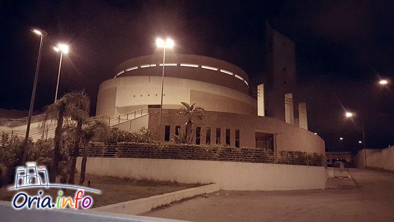 La chiesa di San Barsanofio, poco dopo l'accaduto